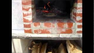 Off grid wood fire Brick Oven
