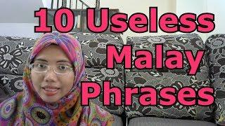[LEARN MALAY] 119-10 Useless Malay Phrases