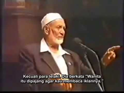 Ahmed Deedat - Jilbab/hijab merendahkan/ melindungi perempuan?