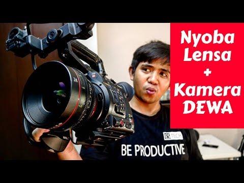 Nyoba Kamera Dan Lensa KELAS SINEMA Canon Cinema C200 Indonesia