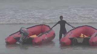 Incredible India Tour |  2 Rafting Boats, 1 Drone With Movie Camera & Film Shooting At The Digha Sea