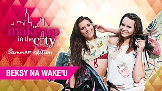 Beksy i syreni makijaż - Make up in the City #10 summer edition