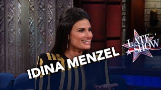Idina Menzel Is A Fan Of Stephen