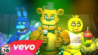 Top 10 Five Nights At Freddy's Songs & Animations – Part 2