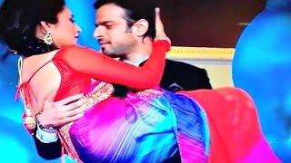 Ishita And Raman Hot Romantic Dance At Television Style Awards 2015