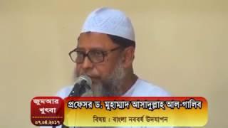 প্রফেসর ড. মুহাম্মাদ আসাদুল্লাহ আল-গালিব, বিষয় : বাংলা নববর্ষ উদযাপন