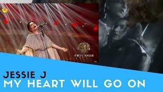 """Voice Teacher Reacts to Jessie J - My Heart Will Go On """"Singer 2018"""""""