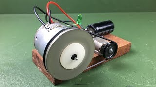 How to Make Free Energy Science Experiment Mini Self Running Machine Using DC Motors
