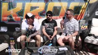 Stryker Interviews Volbeat at the KROQ Coachella House