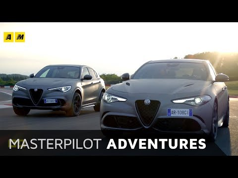 Alfa Romeo Quadrifoglio NRing Con Stelvio nel suo regno il Nurburgring