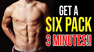 How To Get A Six Pack in 3 Minutes For a Kid a 10 year old at home
