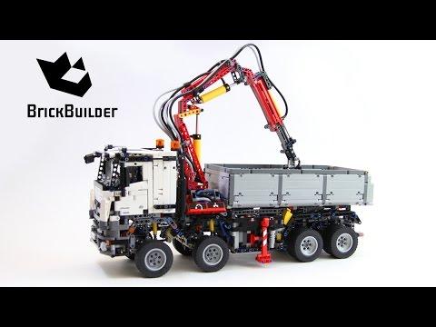 Lego Technic 42043 Mercedes Benz Arocs 3245 Lego Speed build