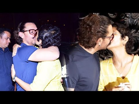 Xxx Mp4 Aamir ने खुले आम किया Kiran Rao को KISS 53rd Birthday Celebration 3gp Sex