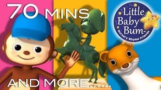 Pop Goes The Weasel | Plus Lots More Nursery Rhymes | 70 Minutes Compilation from LittleBabyBum!