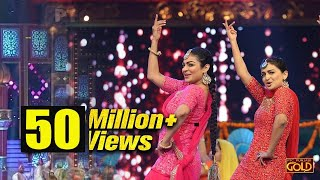 Watch Bajwa Sisters- Neeru Bajwa & Rubina Bajwa Performing LIVE At PTC Punjabi Film Awards 2018