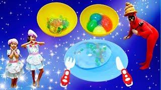 まきまき星人の好物は!?いろんなもてる水でお料理☆himawari-CH