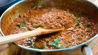 Basic Meat Sauce