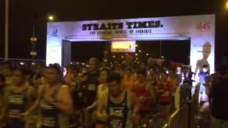 ST Run 2015 - 18.45km flagged off