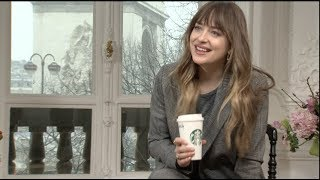 FIFTY SHADES FREED interviews - Dakota Johnson, Jamie Dornan, Rita Ora, Eric Johnson - Pattinson