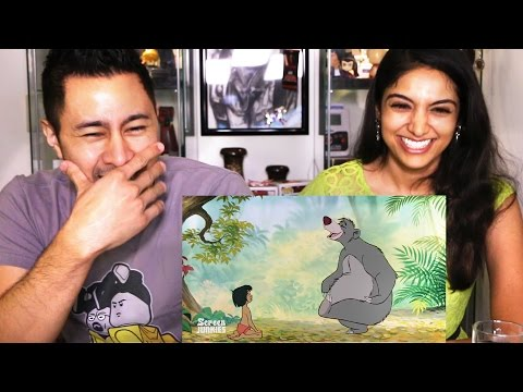 HONEST TRAILERS THE JUNGLE BOOK Reaction by Jaby & Fizaa!
