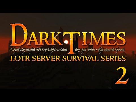 Minecraft LOTR - Dark Times SMP - Part 2 - It's Not Fang-Horn!