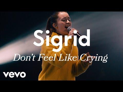 Sigrid Don t Feel Like Crying Live Vevo LIFT