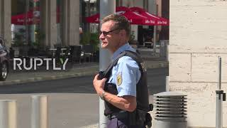 Germany: US ambassador Grenell arrives for meeting with German State Secretary