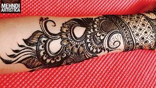 Designer Wrist Mehndi Design For Bride | Haathphool Mehendi Designs For Hands (part 1)