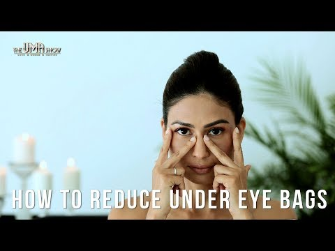 Yoga For Eye How to reduce under eye bags
