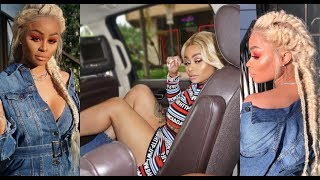 Blac Chyna & Her Boyfriend PRESSED BY CRIP AFTER BOYFRIEND SH*T TALKS HIM FOR TRYING TO SPIT GAME
