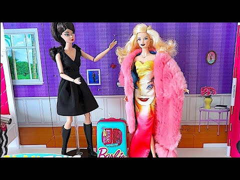 Xxx Mp4 Magic Barbie Doll Saves Barbie Girl Dress And Make Up Party 🎀 3gp Sex
