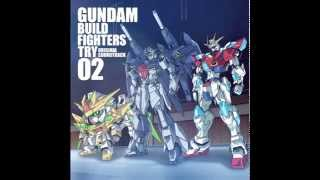 Gundam Build Fighters TRY OST 2 - 03 - New Dimension Overlord Flow