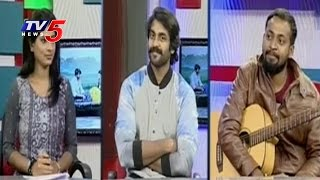 Exclusive Interview with Janaki Ramudu Movie Hero Naveen Sanjay and Music Director Gifton | TV5 News