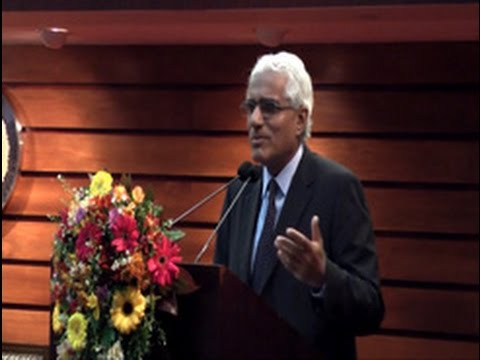 The Inaugural speech delivered by Dr. Indrajit Coomaraswamy