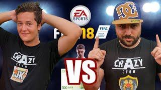 FIFA 18 ¡¡¡TORNEO 100€!!! JK VS DOCTOREPOLLO [Crazy Crew]