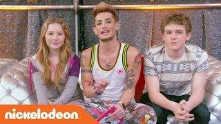 'Pimple Popping Reaction' w/ Frankie Grande, Sean Ryan Fox & More! | Henry Danger | Nick
