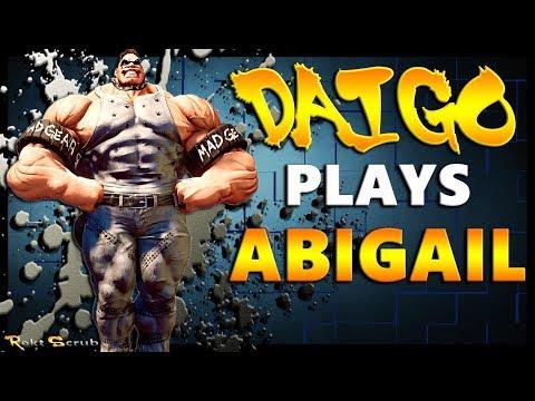 SFV - Daigo Umehara ( Abigail ) Vs Online Warriors | Ranked Matches - SF5