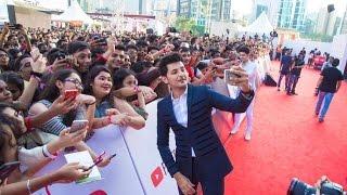 Darshan Raval Live red carpet YouTube Fan Fest