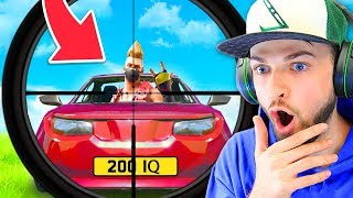 Reacting to 200 IQ PLAYS in FORTNITE!