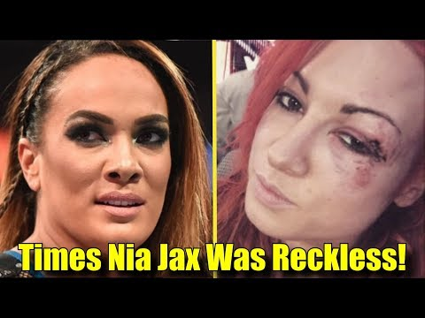 Xxx Mp4 5 Wrestlers That Nia Jax INJURED BY BEING RECKLESS 3gp Sex