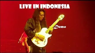 YNGWIE MALMSTEEN LIVE IN INDONESIA (Accoustica Demo)