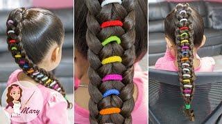 Colitas Cruzadas Peinados Para Ninas Peinados Con Trenzas