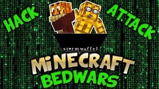 Bedwars - MIESER HACKER?!! | Minecraft Online