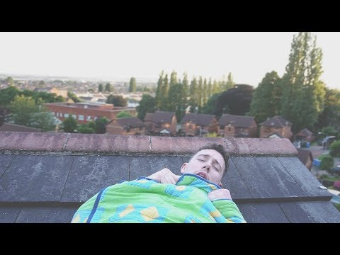 I Spent the Night on a Roof and It Didn t Go as Planned Sleep on a Roof Challenge