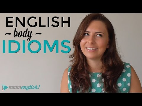 watch English Idioms |👉🏼 👫 BODY 👫 👈🏼| How to SAY & USE them!