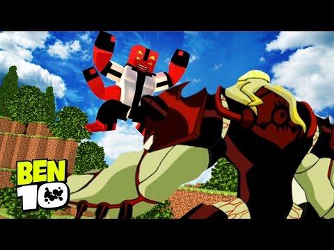 Xxx Mp4 Minecraft BEN 10 VILGAX VS BEN 10 05 Ben 10 In Minecraft 3gp Sex