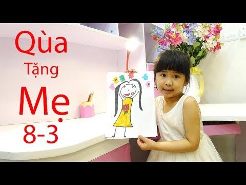 Quà Tặng Mẹ 8-3 ♥ Bé Bún – Bé Bắp ♥