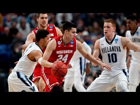 Second Round Wisconsin upsets Villanova