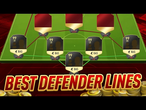 FIFA 17 MOST OVERPOWERED DEFENDER LINES - BEST DEFENDERS IN FIFA 17 ULTIMATE TEAM