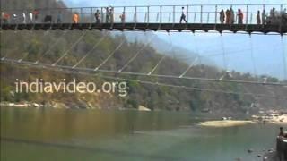 Ram Jhula Bridge, Rishikesh, Uttarakhand